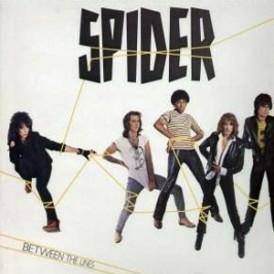 Spider - Between The Lines - Album Front Cover